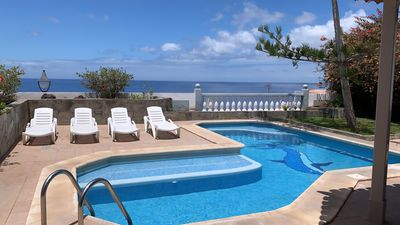 Photo for luxury loft with garden, swimming pool, terraces, panoramic view of the sea, mountains, La Gomera