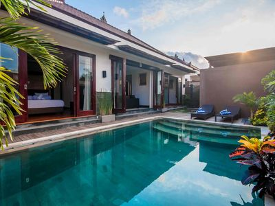 Photo for Charming Family Boutique Pool Villas in Seminyak, Bali - Indonesia