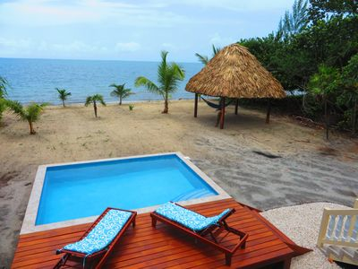 Photo for Two Bedroom Beachfront Villa with Pool!