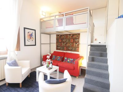 Photo for Thouar  Center apartment in Santa Croce with WiFi, integrated air conditioning, balcony & lift.