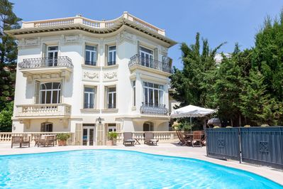 Rear villa with pool + BBQ (Safety barrier if children)