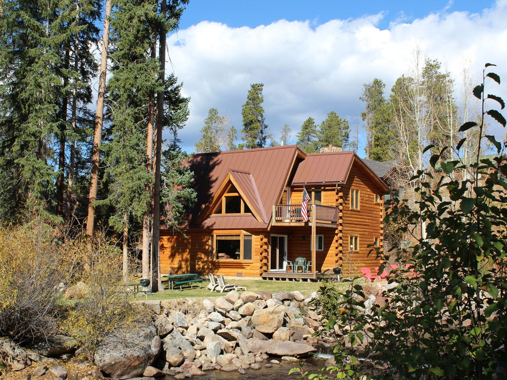 Just off grand lake on the north inlet gorgeous view for Grand lake colorado cabin rentals