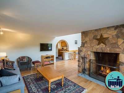 Photo for Spacious 3 story townhouse with private hot tub minutes from the slopes