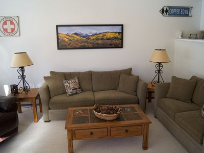 Photo for Quiet, Sunny, Clean And  Only One Block From Restaurants, Shops And Free Shuttle