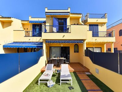 Photo for 2 bedroom Villa, sleeps 4 in Meloneras with Pool, Air Con and WiFi