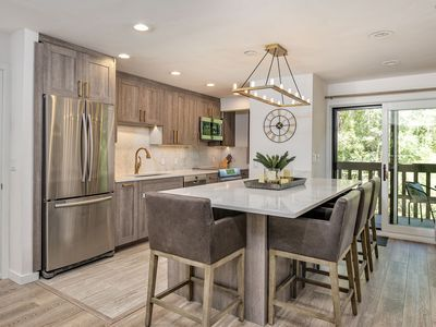 Photo for Elegantly remodeled condo on the river in the core of Aspen