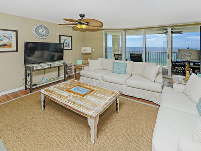 Photo for BEAUTIFUL COASTAL CHIC UNIT! OPEN 8/24-31! LOCATED IN A GATED COMMUNITY!