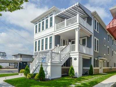 Photo for New 10 BR/6 BA, Elevator, Wesley Ave, close to everything 💙 of OCNJ, sleeps 28
