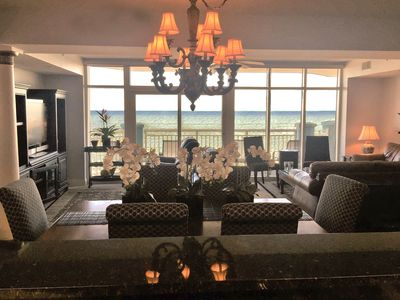 Beautiful CLEAN 5 BR/4B Oceanfront Luxury Condo, Huge Balcony, Media Rm, 5 STARS