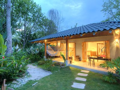 The stunning Batik Casita and Tropical private garden.