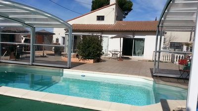 Photo for House With Pool on 3000 m2 land for Beaches Close