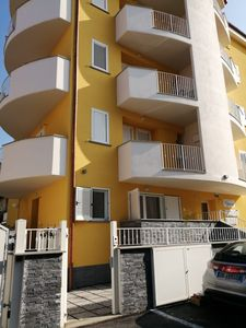 Photo for Monesilvano CLEAN BEACH. New studio apartment with garden near the sea
