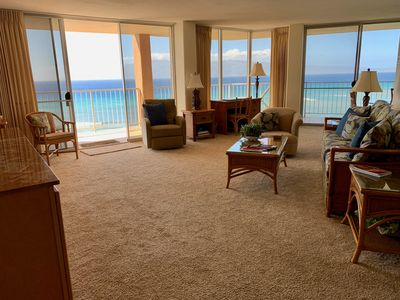 Photo for Luxurious 2 Bedroom 2 1/2 bath oceanfront condo.  Spectacular 10th floor views!