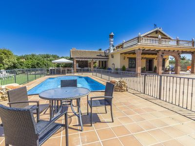 Photo for Cubo's Villa Los Javieles. Pool, airconditioning, perfect for children