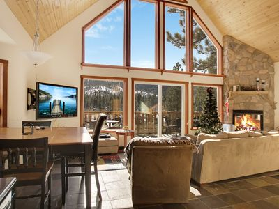 Photo for Big Bear Lake House w/ Alpine Views, Near Bear Mountain & Snow Summit