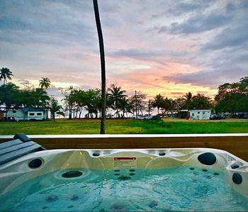Photo for UNDER NEW MNGT Beachfront 2 Level House, Terrace, Pool, Outdoor Jacuzzi & More