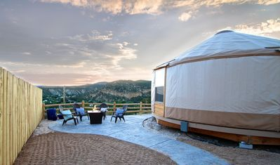 Photo for Yurt Overlook #5 at East Zion Resort (2 King beds)