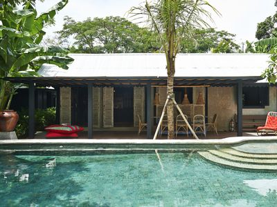 Photo for Hip and Shabby-Chic Villa with Tropical Gardens, Relaxation VIBE!