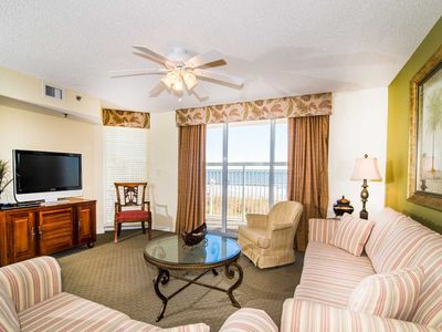 Photo for Oceanfront Coastal Condo, Outdoor Pool and Hot Tub | Crescent Shores - N 103