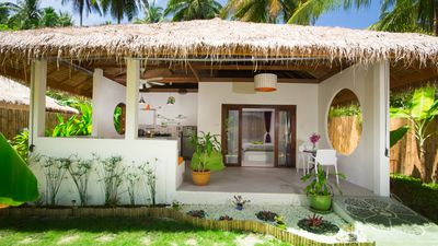 Photo for Beautiful 2 guests Balinese style villa @ Sandshine Village