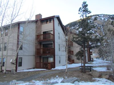 Fully Furnished Georgetown Ski Condo near lake, 1 Br With Loft