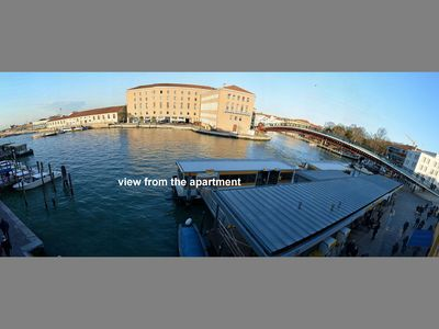 Photo for WHERE GRAND CANAL STARTS panoramic view, 5pax, wifi, aircond