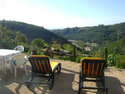 Photo for Pretty holiday cottage with fantastic views sleeps 6, Arganil 7kms