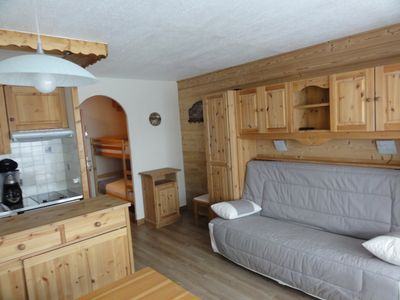 Photo for Apartment of 25 sq.m in Val Thorens