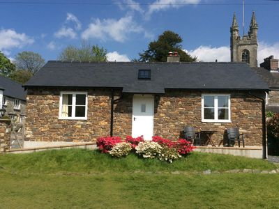 Photo for Modern, but cosy, one-bedroom cottage in a delightful village on West Dartmoor