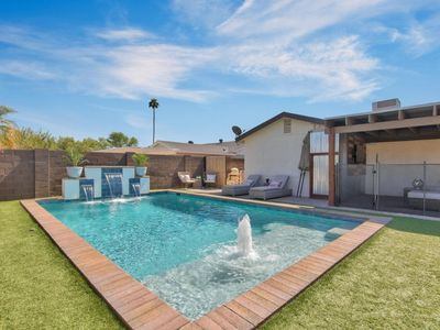 Photo for BRAND NEW TO VRBO! Best Central Location with Private Pool and Pool Table!