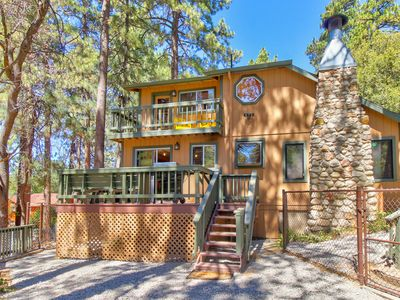 Photo for Rustic home with upgraded amenities, fenced yard, and two decks!