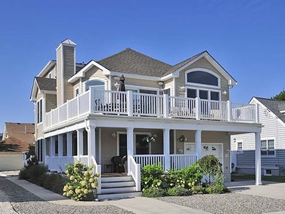 Photo for JUST 1.5 BLOCKS  to the beach - large deck off of the living and dining areas