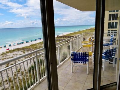 Photo for Beautiful Gulf-Front Condo With a Wrap Around Balcony