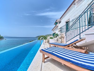 Photo for Villa Allure - the pearl of luxury villas on the island of Brac with 5 bedrooms