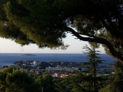 Photo for Villa beautiful sea view 15 minutes walk from the port of Bandol and beaches