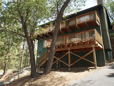 Photo for Casey Rose Cabin - TEE AND SKI!  Walk to Golf Course, Ski Resort and Zoo! Game Room!  Free WiFi!