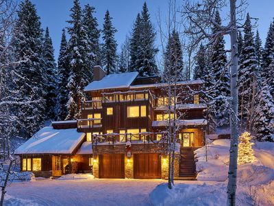 Photo for Beautiful 6BR ski-in ski-out access house on Snowmass mountain