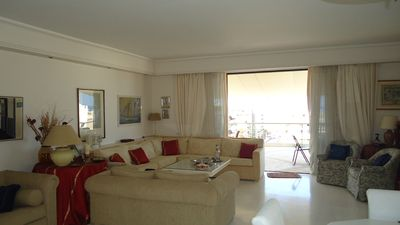 Photo for Spectacular Penthouse Apt W/ Sea & City Views 3 Bd/ 2 Bath With Huge Veranda