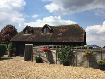 Photo for A pretty holiday, rural cottage in the heart of the garden of England-Kent