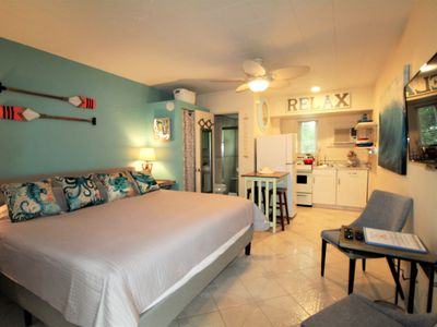 Photo for Tropic Terrace 11 Ground Floor Studio Queen Bed Pool Side Treasure Island