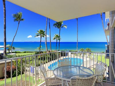 Photo for Oceanfront Location - Amazing Views - Starting @ $220/night - Kamaole Nalu #204