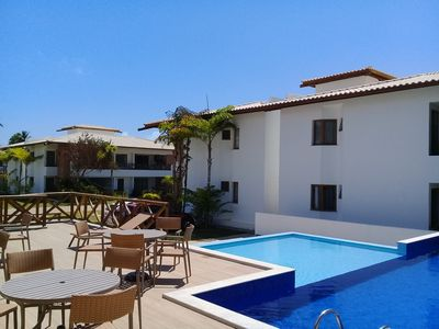 Photo for Charming village of 2 suites in Imbassai! Cond. gated, perfect for family!