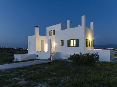 Photo for This 5 bedroom villa  positioned in the beautiful  Mikri Santa