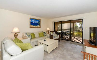 Photo for Chinaberry 414 - 2 Bedroom Condo with Private Beach with lounge chairs & umbrella provided, 2 Pools, Fitness Center and Tennis Courts.