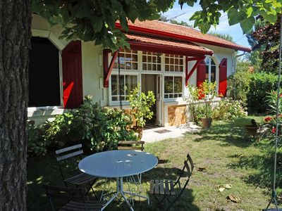 Photo for Charming house 150 m from the Bassin d'Arcachon, Arès, 4 km from Andernos,