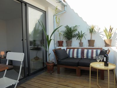 Photo for A lovely studio with roof terrace in the heart of Malaga