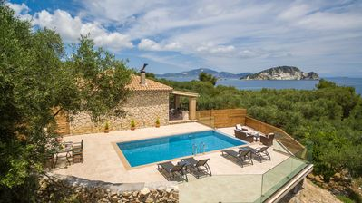 Photo for Two Bedroom Stone House with Private Pool (up to 5 guests)