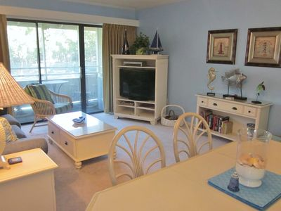 Photo for Beautiful 1BR/1BA Tennis Villa w/Washer/Dryer!!! Overlooks Tennis Courts!