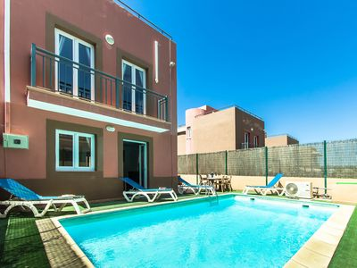 Photo for Corralejo with Private Heated Pool