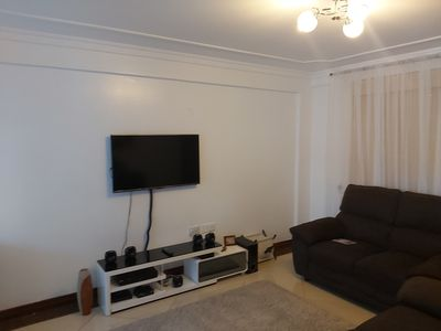 Photo for Beautiful 1 bedroom flat with a view of Westlands